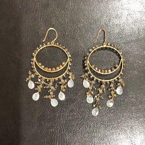 Stella and Dot Chandelier earrings